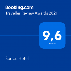 Sands Hotel Nydri Booking Award